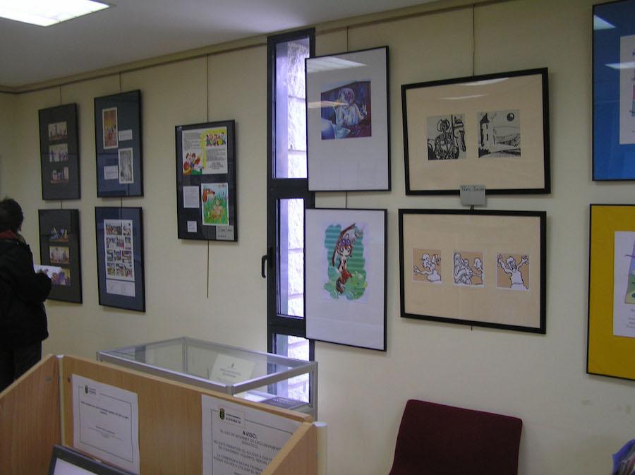 Exposición ilustrar en la sierra