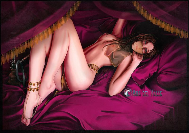 Ilustración Arabian Dream