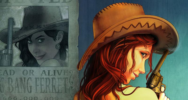 Ilustración con historia: Hey, little Cowboy
