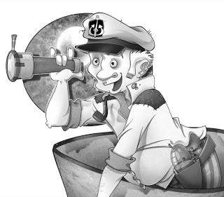 Ilustración Capitán Cabezabuque