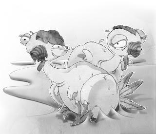 Ilustración pollóctilos