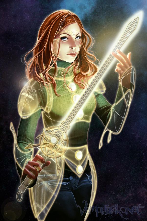 Anne novela con armadura
