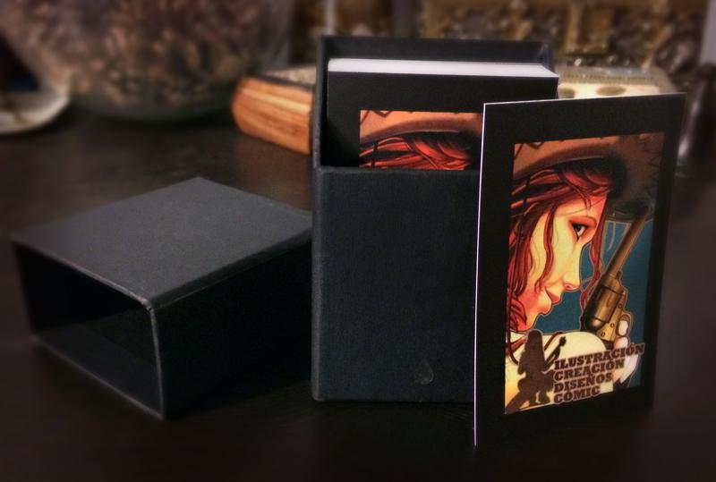 set tarjetas de visita
