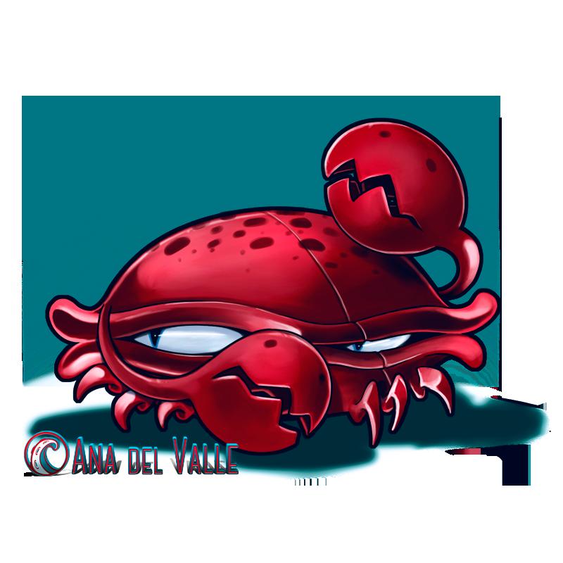 Crabby. Diseño de personaje para corto de animación