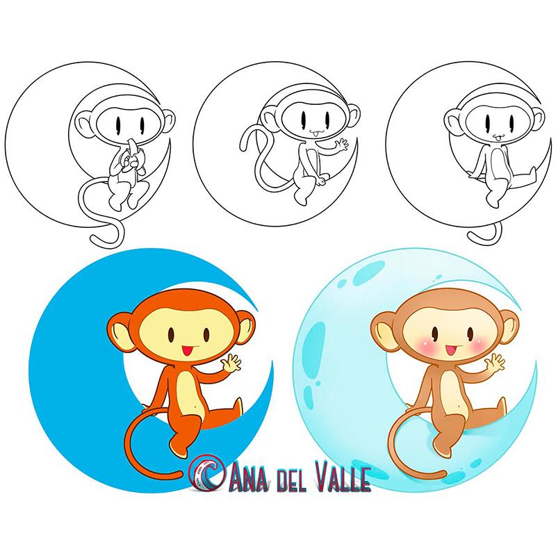 Monkimun. Diseño de mascota