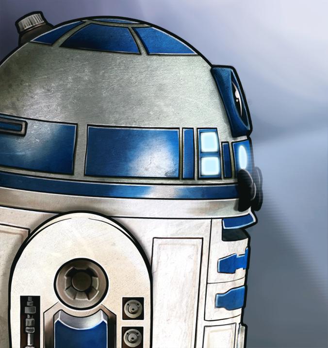 ilustración R2D2