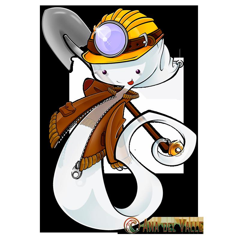 Soply. Diseño de mascota para la Cueva El Soplao (Cantabria)