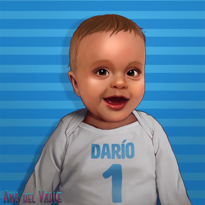 Retrato Darío 1