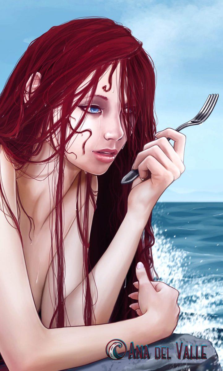 Ariel, The Little Mermaid (La Sirenita) detalle