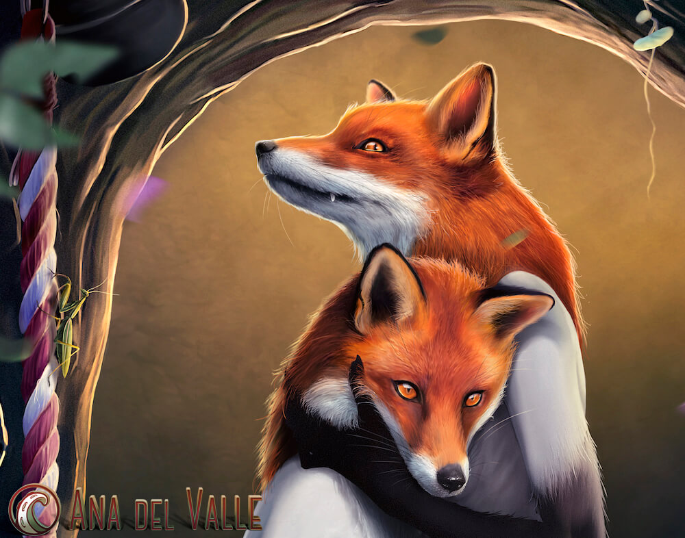 They Foxes detalle