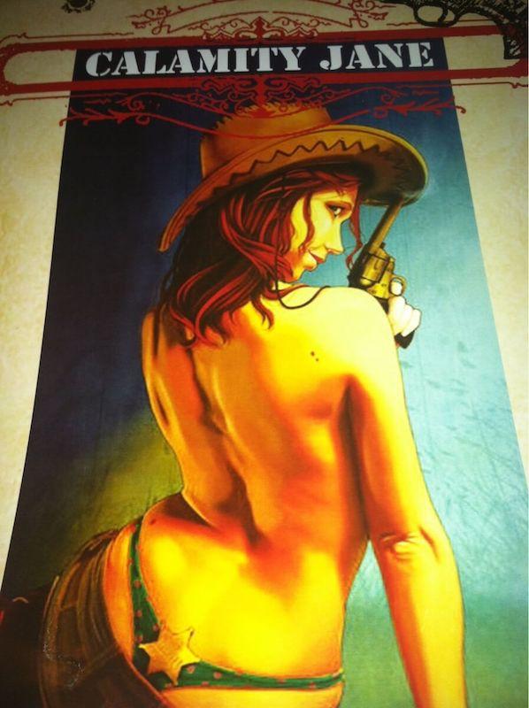 Ilustración Hey, little cowboy! Calamity Jane