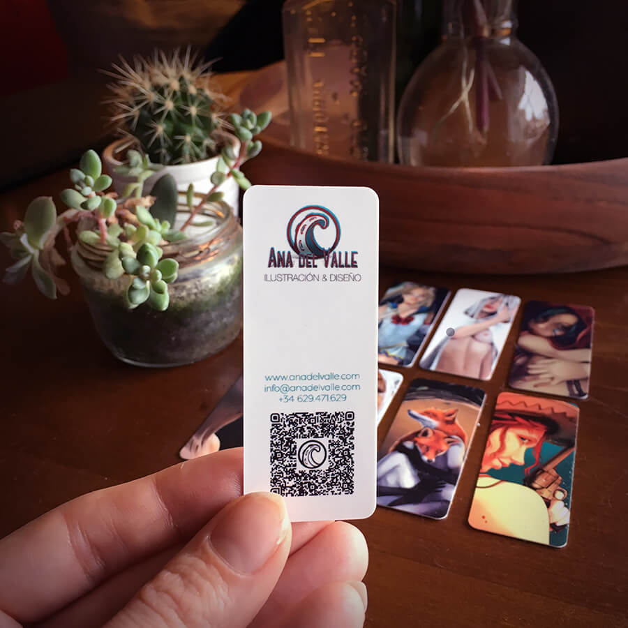 Tarjetas Business Card Mini