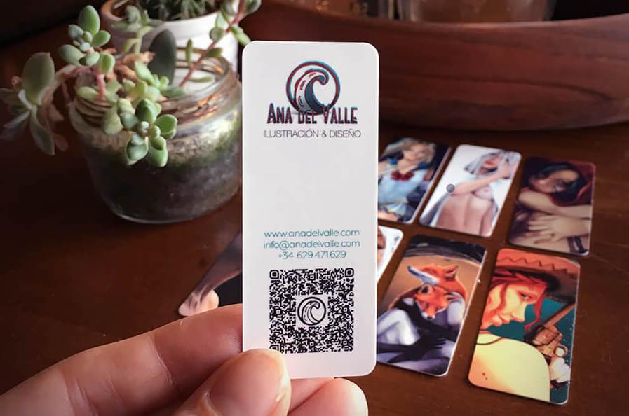 Nuevas tarjetas de visita