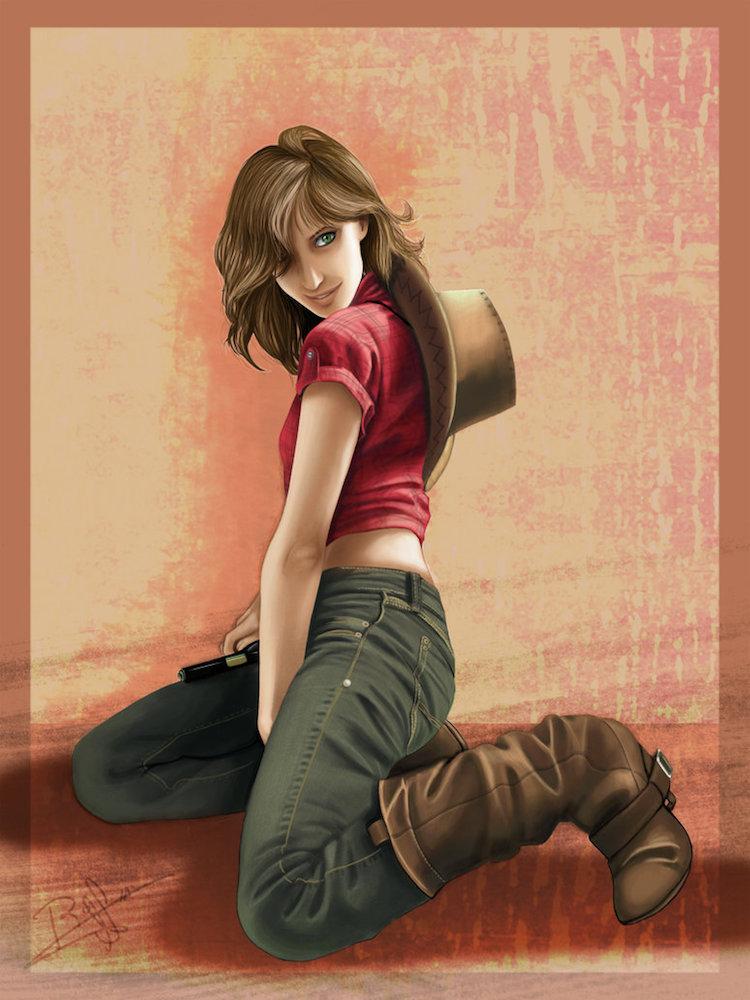 Beauty Cowboy by Rusneko