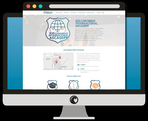 Diseño web del XIII Congreso Internacional ASCASEPP