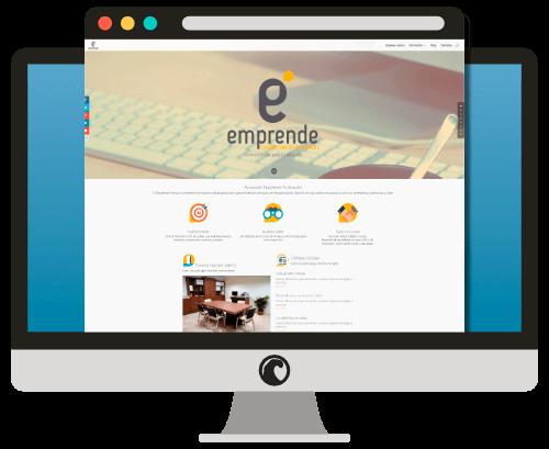 Diseño web del Centro Emprende Formación