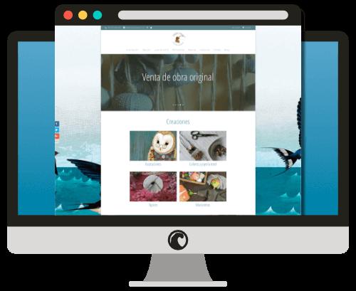 Diseño web MarinaSeoane.com