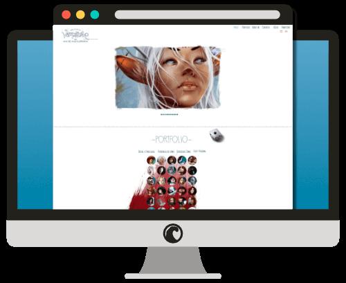 Diseño Web Vampirneko.net