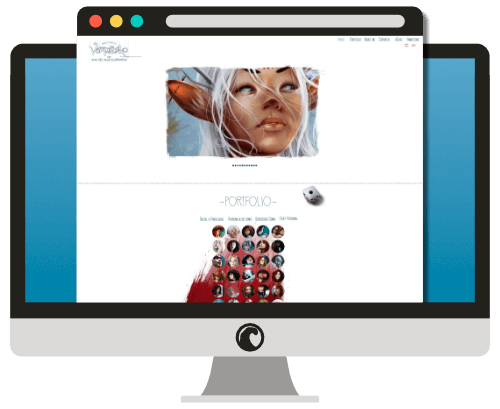 Vista previa de la web vampirneko.net