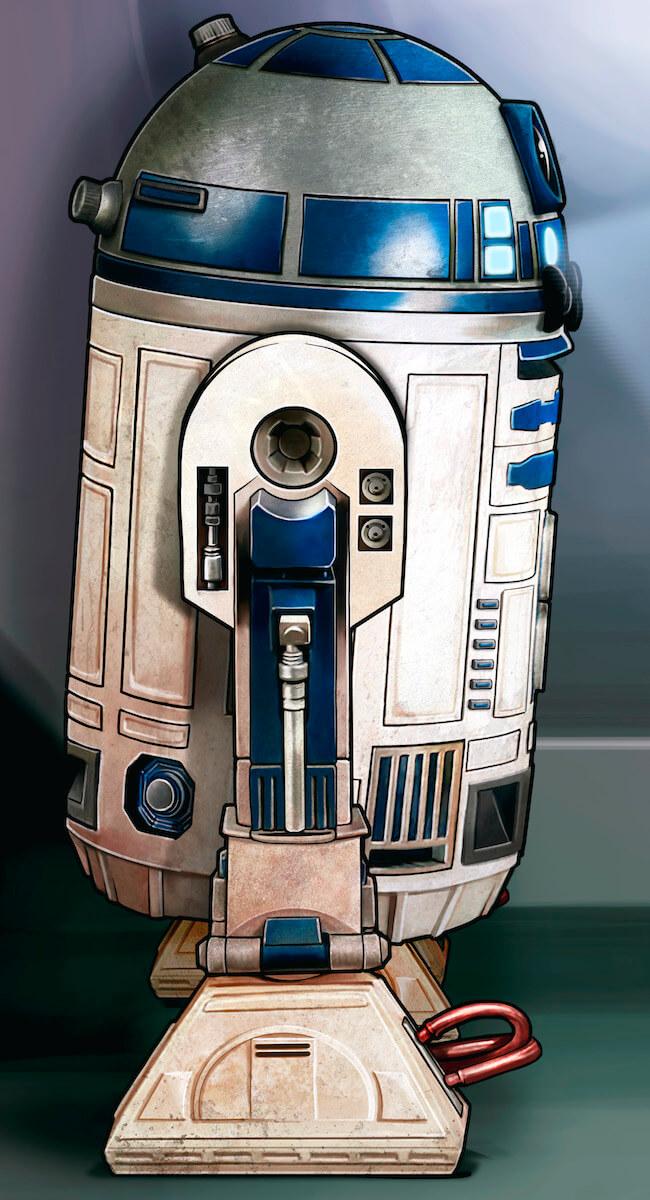Boda Star Wars R2D2