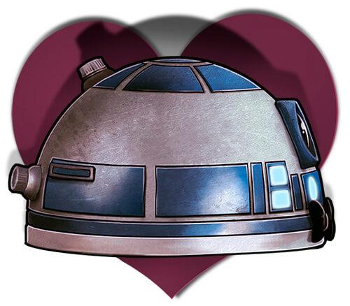 R2D2 StarWars corazón