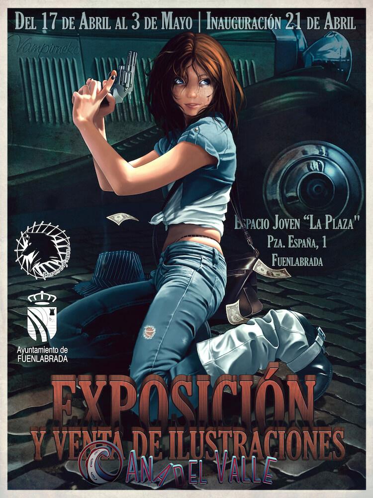 Cartel Exposición en Fuenlabrada