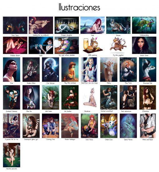 Selección de ilustraciones para carteles