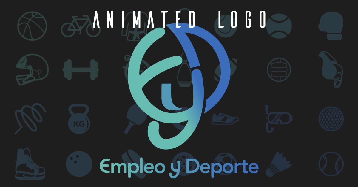 Logo animado para Empleo y Deporte destacada