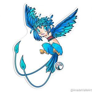 Pegatina My little Harpy