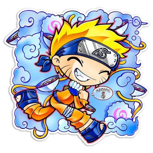 Pegatina My little Naruto-kun