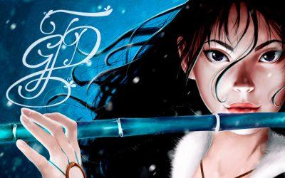 Ilustración de Leda, personaje de Nirbalán