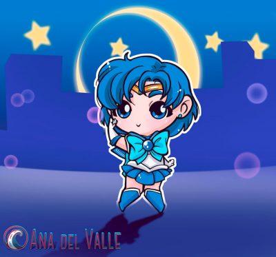 My little Sailor Mercury