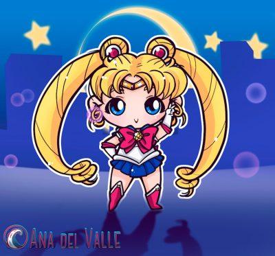 My little Sailor Moon