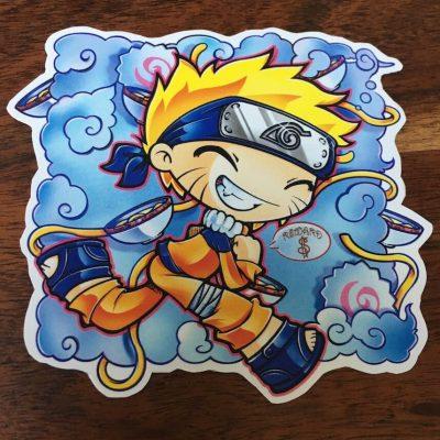 Pegatina My little Naruto-kun 2