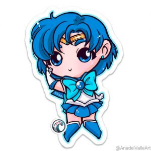 Pegatina My little Sailor Mercury