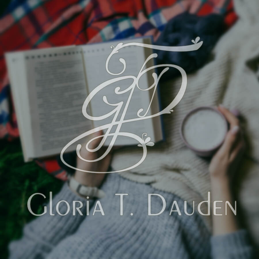 Logotipo para Gloria T Dauden sobre fondo