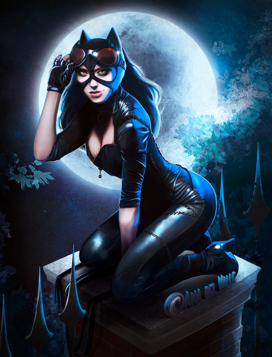 Ilustración de Catwoman