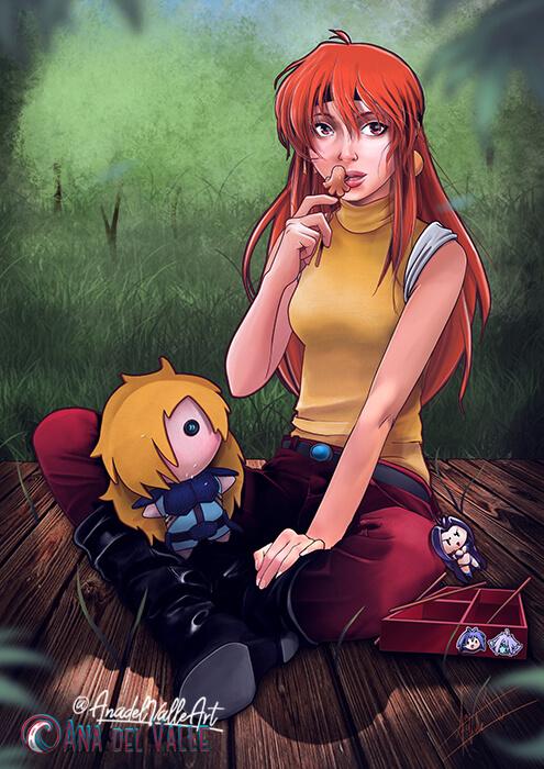Ilustración Lina's Picnic