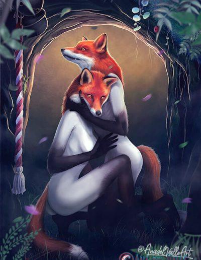 ilustración They Foxes