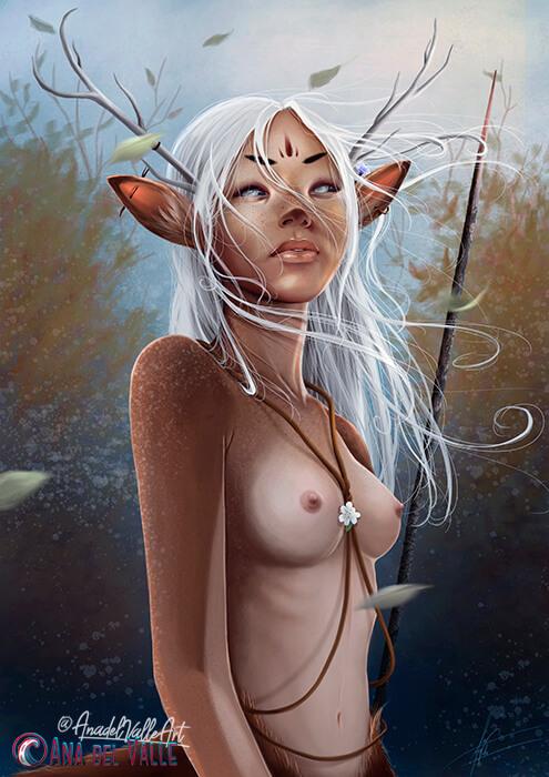 ilustración deery Artemisa