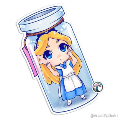 My Little Alice pegatina