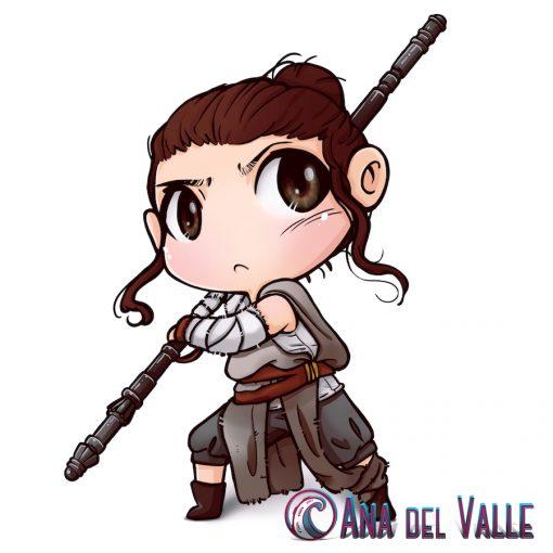 My Little Rey ilustración