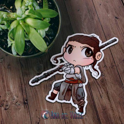Pegatina Rey star wars