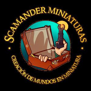 logotipo Scamander miniaturas