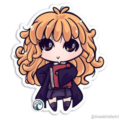 My Little Gryffindor Hermione pegatina