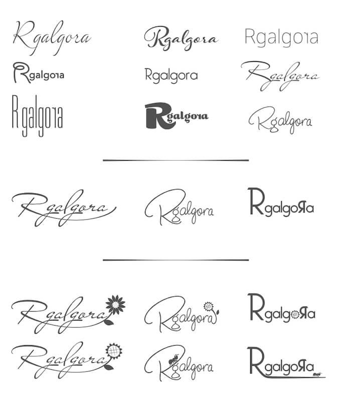 Diseño de Logotipo Rgalgora