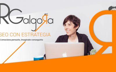 Diseños de web, logotipo y branding para Rgalgora.com