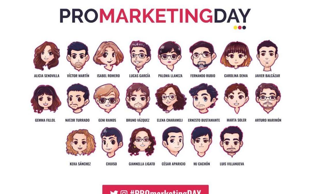 Retratos para el PRO Marketing DAY de Aula CM