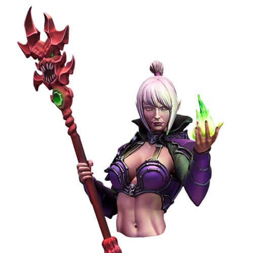 Lisbeth, Oráculo de Fuego figura