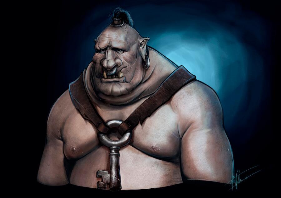 Bort, el Carnicero de Hierro ilustración